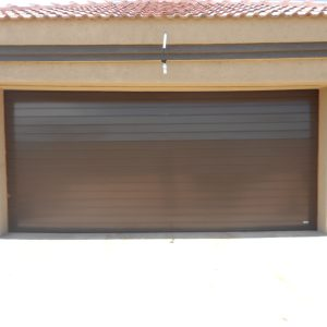 Slatted Double Door