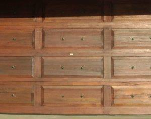 Double Grooved Door